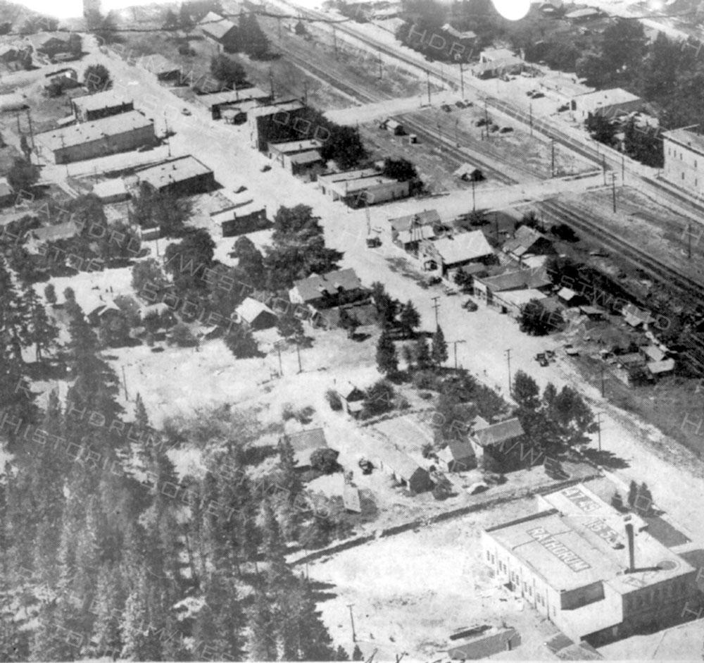 Rathdrum Aerial 1953
